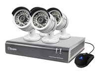 Swann SWDVK-446004 DVR + camera(s) 4 channels 1 x 1 TB 4 camera(s)