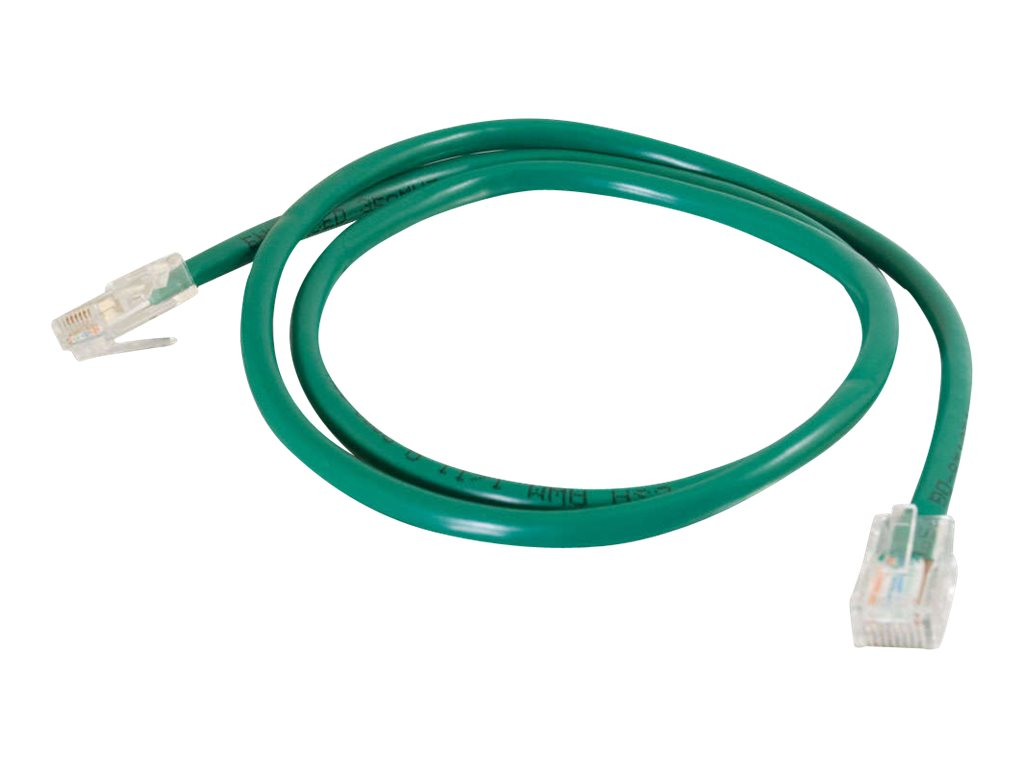 C2G Cat5e Non-Booted Unshielded (UTP) Network Patch Cable - patch cable - 22.9 m - green
