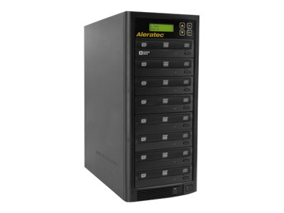 Aleratec 1:7 DVD/CD Copy Tower Duplicator Disk duplicator DVD±RW (±R DL) / DVD-RAM x 7