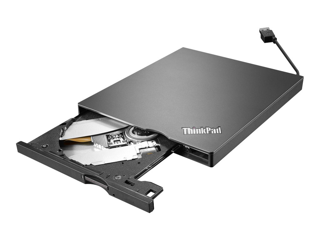 Lenovo ThinkPad UltraSlim USB DVD Burner - DVD±RW (±R DL) / DVD-RAM drive - SuperSpeed USB 3.0 - external