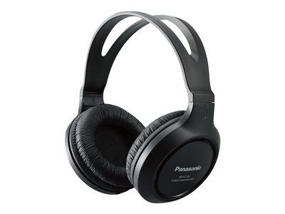 Panasonic RP-HT161-K Headphones full size wired 3.5 mm jack black
