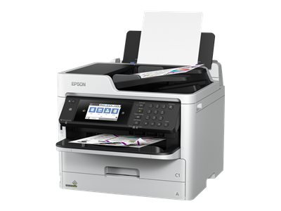 Epson WorkForce Pro WF-C5710DWF - Multifunction printer - colour - ink-jet - A4 (210 x 297 mm), Legal (216 x 356 mm) (original) - A4/Legal (media) - up to 22 ppm (copying) - up to 34 ppm (printing) - 330 sheets - 33.6 Kbps - USB 2.0, Gigabit LAN, Wi-Fi(n), USB host, NFC ** End-User Free 3 Years Extended Printer Warranty Worth £250 redeemable valid between 1st July 2019 until 31st December 2019 via www.epson.co.uk/printerwarranty or www.epson.ie/printerwarranty. Claims must be submitted within 30 days of purchasing the produc product **