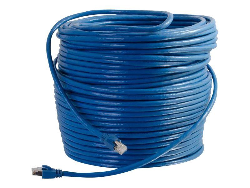 C2G 100ft Cat6 Ethernet Cable - Snagless Sold Shielded - Blue - patch cable - 30.5 m - blue