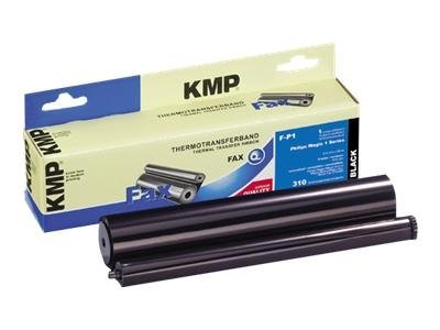 KMP F-P1 - 1 - Schwarz - 212 mm x 95 m - Farbband (Alternative zu: Philips PFA 301) - für Philips Magic