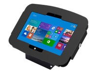 Picture of Compulocks Space 45° Surface Pro 3/4 / Galaxy TabPro S Wall Mount / Counter Top Kiosk Black - mounti