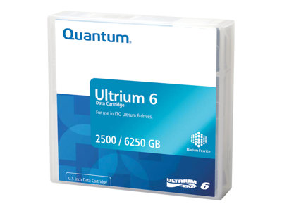 - LTO Ultrium x 1 - 2.5 To - support de stockage