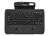 Zebra L10 Companion - Keyboard - with touchpad - dock - US - for XPAD L10; XSLATE L10