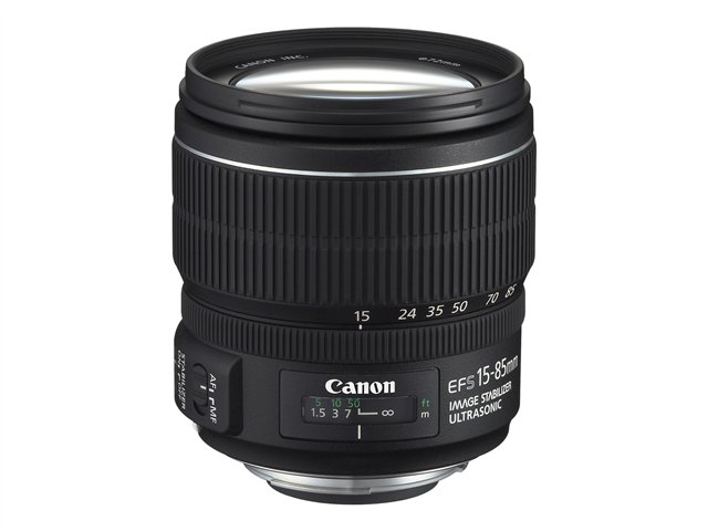 Canon EF-S zoom lens - 15 mm - 85 mm