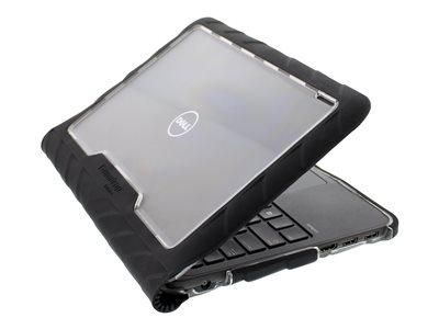 Gumdrop Drop Tech Notebook top and bottom cover 11INCH black, transparent (pack of 10)