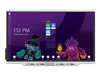SMART Board 7075-V2 display with iQ 75INCH Class LED display interactive