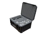SKB 3I Series Hard case for microphone ultra high-strength polypropylene copolymer resin