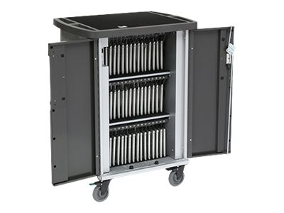 Bretford Ever Cart USB, w/270° front doors, w/Rear Door