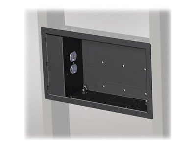 Chief PAC521N Mounting component (in-wall enclosure) black for Thinstall