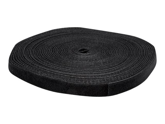 StarTech.com 50ft. Hook and Loop Roll - Cut-to-Size Reusable Cable Ties - Bulk Industrial Wire Fastener Tape - Adjustab…