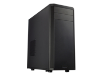 Fractal Design Core 2500 - Mid tower - ATX - no power supply (ATX) - black - USB/Audio