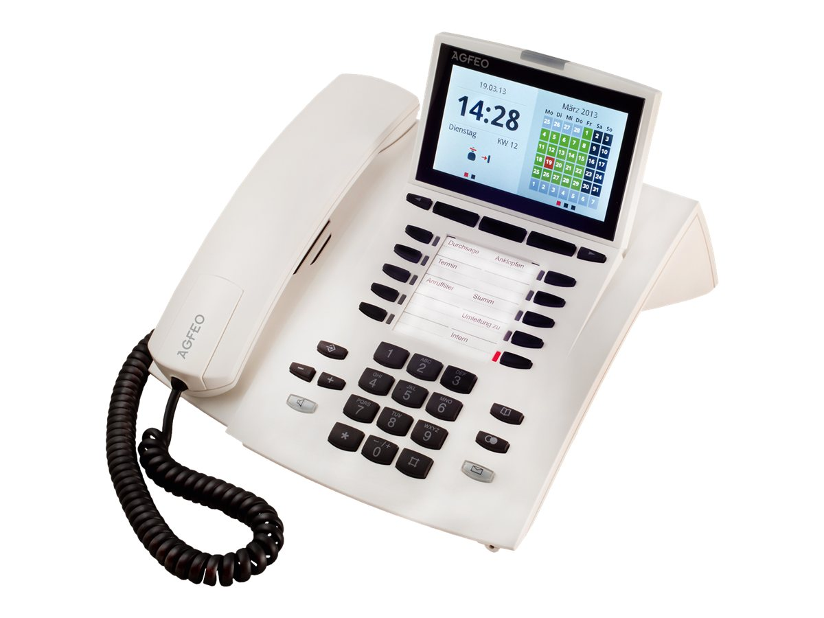 AGFEO ST 45 - Digitaltelefon - Pure White