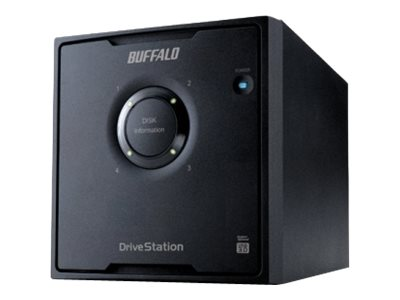 BUFFALO DriveStation Pro HD-QH12TU3/R5 Hard drive array 12 TB 4 bays (SATA-300) 3 TB x 4