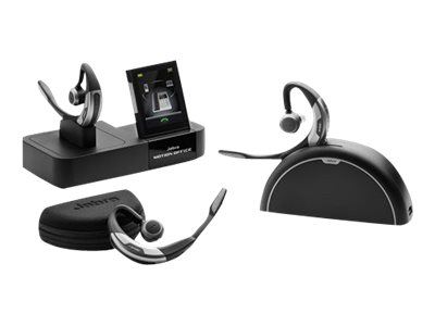Jabra Motion Office - Headset - ear-bud - over-the-ear mount - Bluetooth -  wireless - active noise cancelling