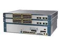 Cisco Unified Communications 520 for Small Business VoIP gateway 32 users 100Mb LAN 2U
