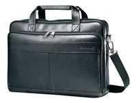 Samsonite Leather Business Slim Brief Notebook carrying case 15.6INCH black