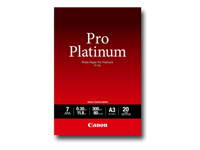 Picture of Canon Photo Paper Pro Platinum - photo paper - 20 sheet(s) - A3 - 300 g/m² (2768B017)