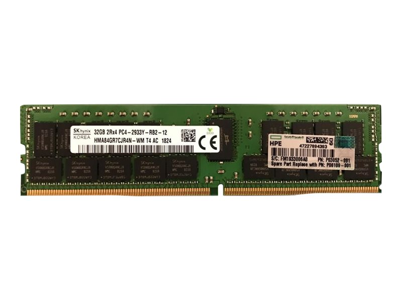 HPE - DDR4 - module - 32 GB - DIMM 288-pin - 2933 MHz / PC4-23400 - registered