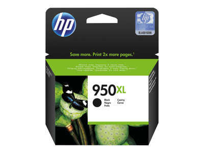 HP 950XL Sort 2300 sider
