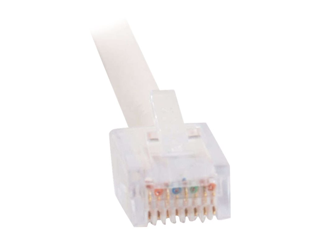 C2G Cat5e Non-Booted Unshielded (UTP) Network Patch Cable - patch cable - 9.14 m - white