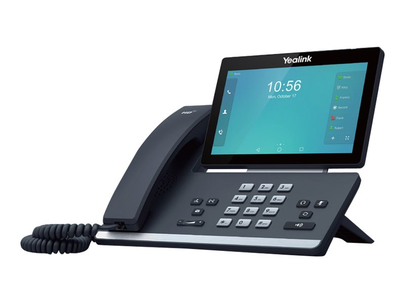 Yealink SIP-T58A - VoIP phone - with Bluetooth interface - 5-way call capability
