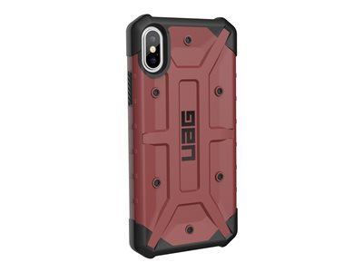 Rugged Case for iPhone Xs / X [5.8-inch screen] - Pathfinder Carmine