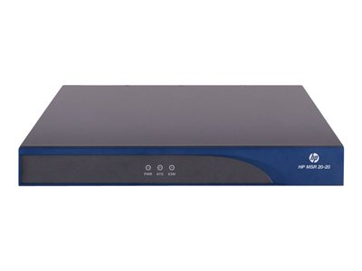 HPE MSR20-20 Router WAN ports: 2