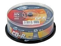 CD & DVD ThinXtra - CD-R x 25 - 700 Mo - support de stockage