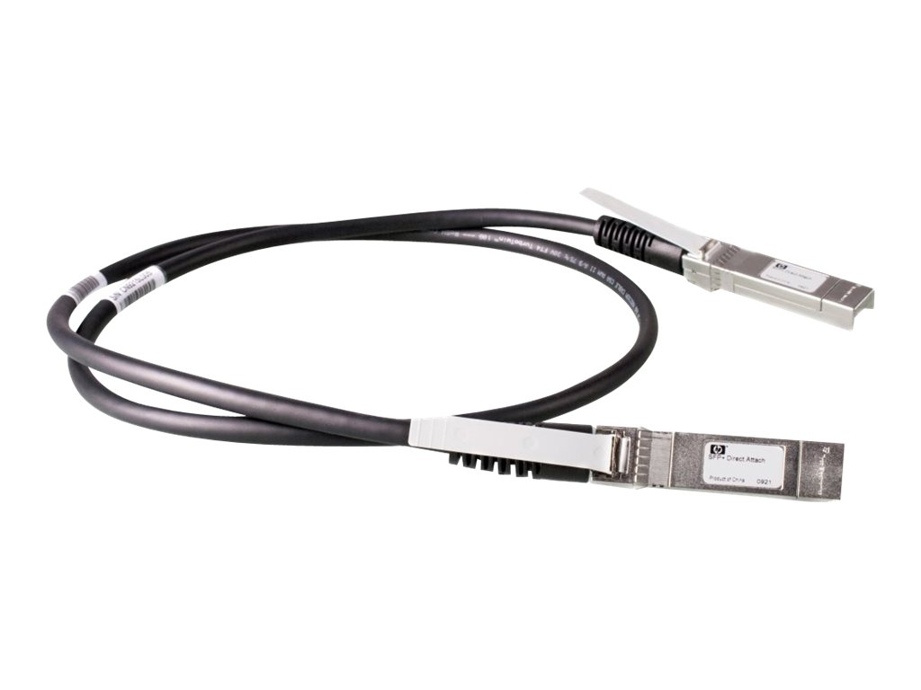 HPE X240 Direct Attach Cable - Netzwerkkabel - SFP+ bis SFP+ - 1.2 m - für HPE 5500, 59XX, 75XX; FlexFabric 1.92; Modular Smart Array 1040; SimpliVity 380 Gen9