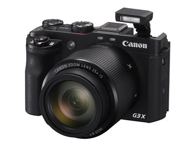 Canon PowerShot G3 X Digital camera compact 20.2 MP 1080p 25x optical zoom W