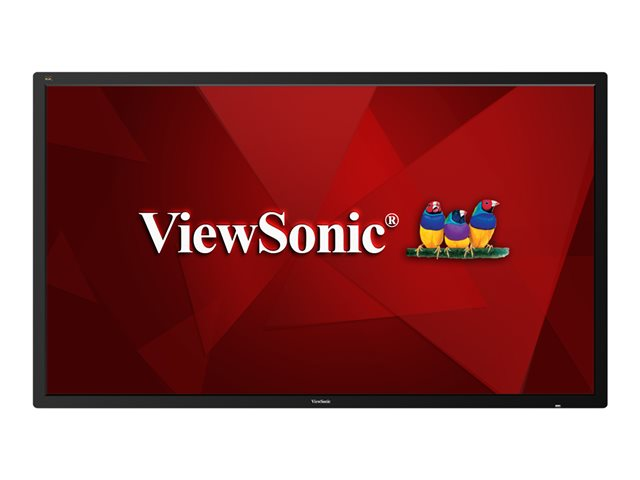 """Image of ViewSonic CDE8600 86"""" Class (85.6"""" viewable) LED display - 4K"""