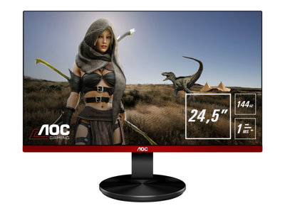 AOC G2590FX 24.5' 1920 x 1080 VGA (HD-15) HDMI DisplayPort 144Hz