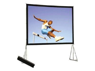 Da-Lite Heavy Duty Fast-Fold Deluxe Screen System Projection screen 16:9 Da-Mat