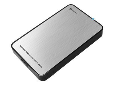 Sharkoon Quickstore Portable Pro USB3.0 - Speichergehäuse - 6.4 cm ( 2.5