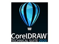 CorelDRAW Technical Suite 2020 Subscription license (1 year) 1 user ESD Win