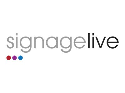Signagelive Subscription license renewal (3 years) 1 connected device/player hosted