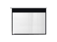Metroplan Eyeline Pro Channel Fix Electric Screen - Projection screen - ceiling mountable, wall mountable - motorised - 94 in (239 cm) - 16:10 - Matte White - white powder coat ***Delivery of this product is approx. 5 working days***