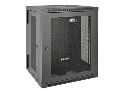 Tripp Lite 15U Wall Mount Rack Enclosure Server Cabinet Hinged Wallmount