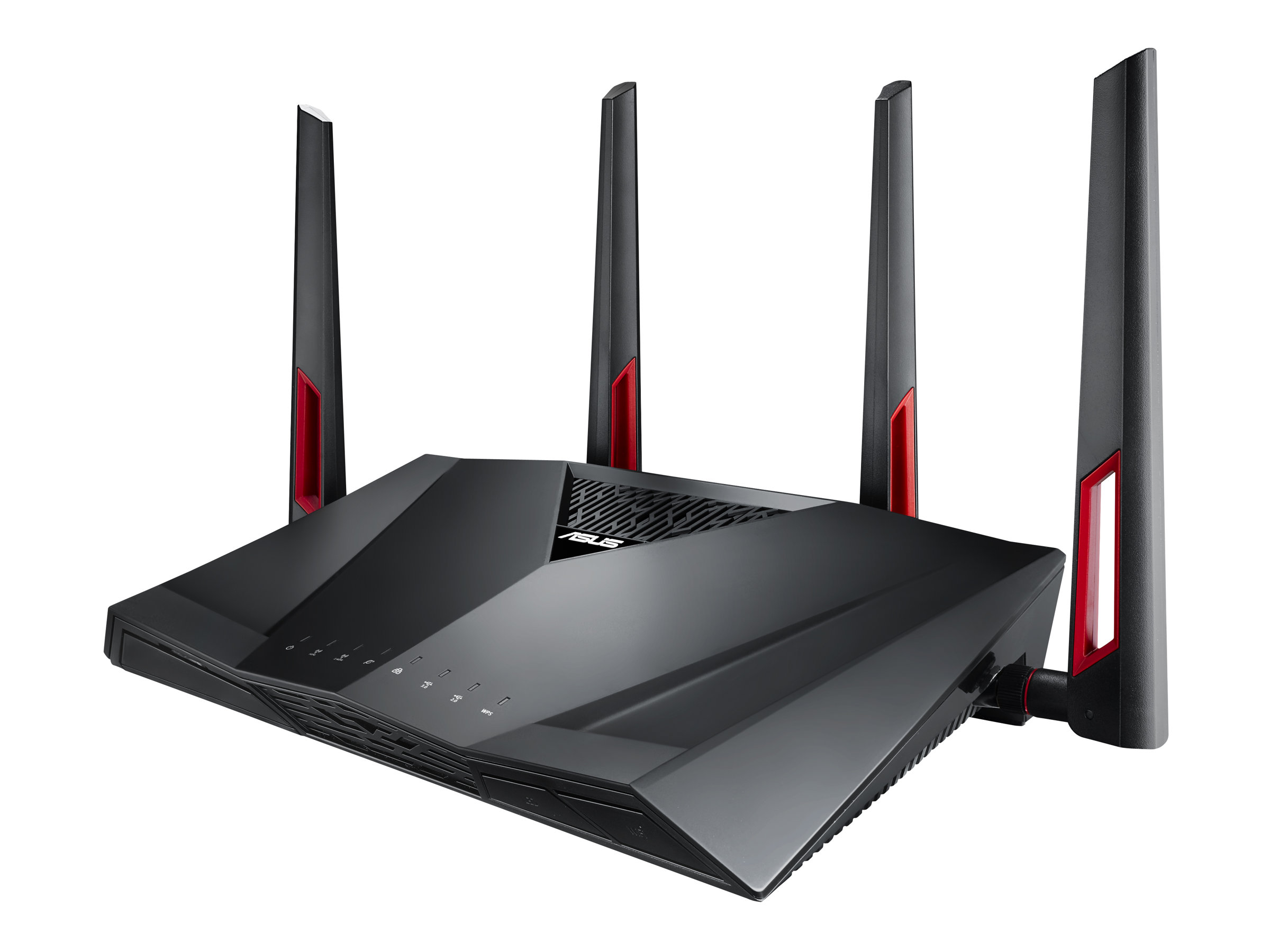 ASUS RT-AC88U - Wireless Router - 8-Port-Switch - GigE - 802.11a/b/g/n/ac - Dual-Band