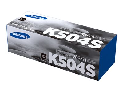 Samsung CLT-K504S Black original toner cartridge (SU162A)