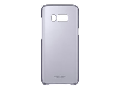Samsung Clear Cover Beskyttelsescover Violet Galaxy S8+