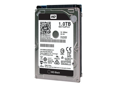 WD Black Performance Hard Drive WD10JPLX - harddisk - 1 TB - SATA 6Gb/s