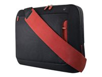 "Belkin 15,6"" Messenger Bag - Notebook carrying case - 15.6"" - jet, cabernet"