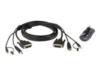 ATEN 2L-7D02UDX2 Keyboard / video / mouse (KVM) cable ki