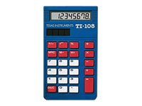 Texas Instruments TI-108 Teacher Kit Desktop calculator 8 digits sol