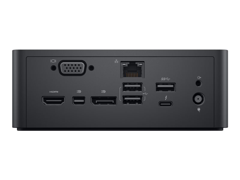 Dell Dual USB-C Thunderbolt Dock TB18DC - station d\'accueil - VGA, HDMI, DP, Mini DP, Thunderbolt